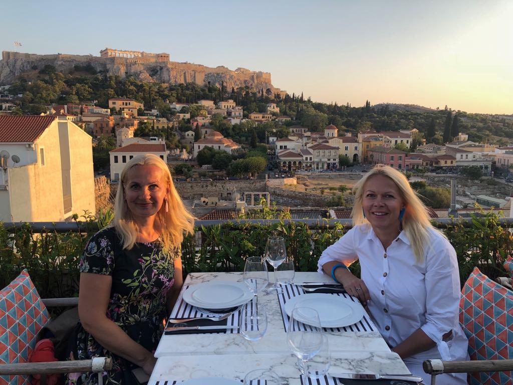 Rutaga Ateenas õpirändel