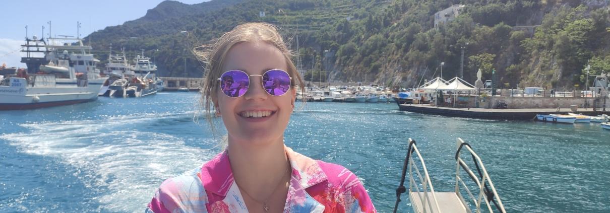 Itaalia keele õppija Salernos